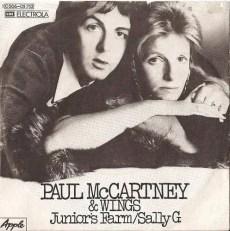 Junior's Farm single artwork - Paul McCartney & Wings