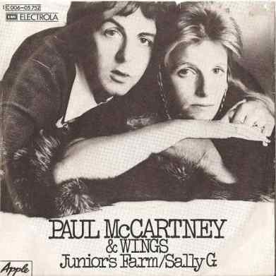 Junior's Farm single artwork - Paul McCartney & Wings
