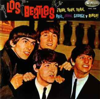 ¡Yeah, Yeah, Yeah, Paul, John, George Y Ringo! album artwork - Peru