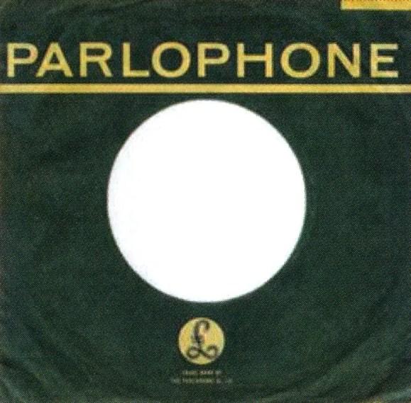 Parlophone single sleeve, 1963-64 - South Africa