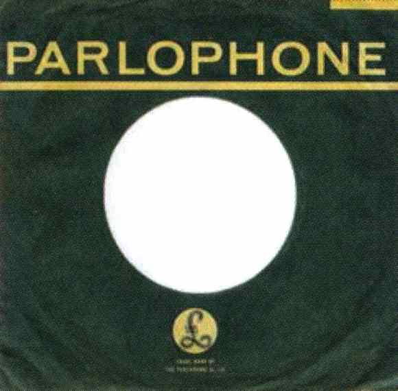 Parlophone single sleeve, 1963-64 - South Africa