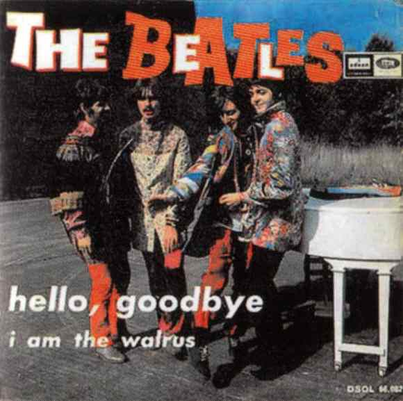 Hello, Goodbye single artwork - Spain