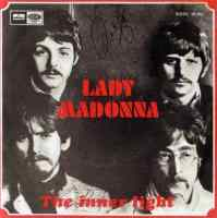 Lady Madonna single artwork - Spain
