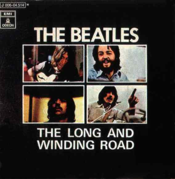 The Long And Winding Road single artwork - Spain