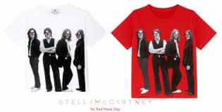 Stella McCartney Beatles t-shirts for Red Nose Day 2013