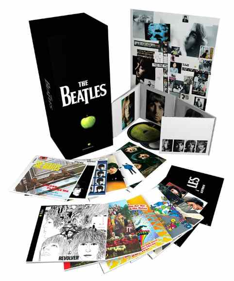 The Beatles stereo remasters box set