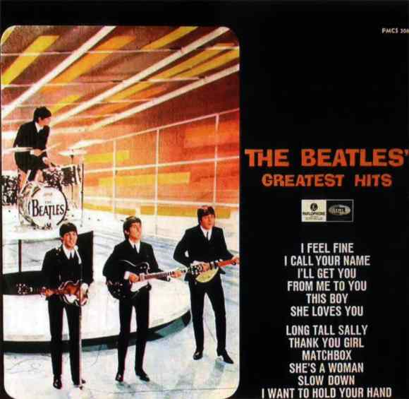 The Beatles' Greatest Hits album artwork - Sweden
