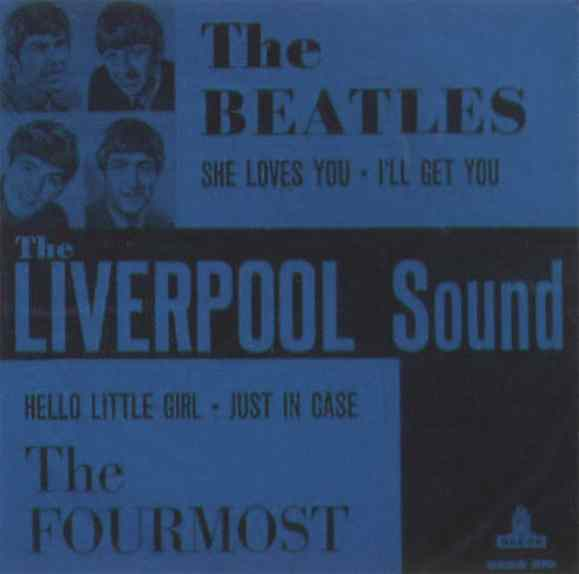 The Liverpool Sound EP artwork - Sweden