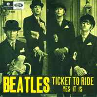 Ticket To Ride single artwork - Sweden