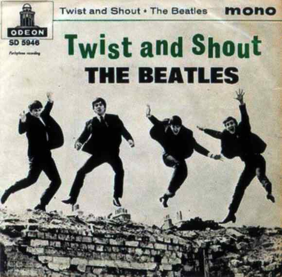 Twist And Shout single artwork - Sweden