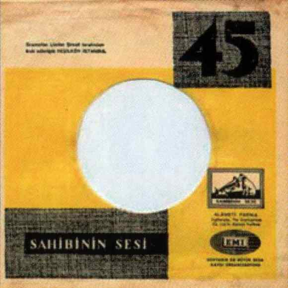 Odeon single sleeve, 1964-65 - Turkey