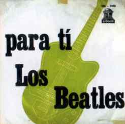 Los Beatles Para Ti album artwork - Uruguay