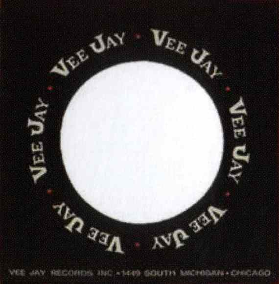 Vee Jay single sleeve - USA