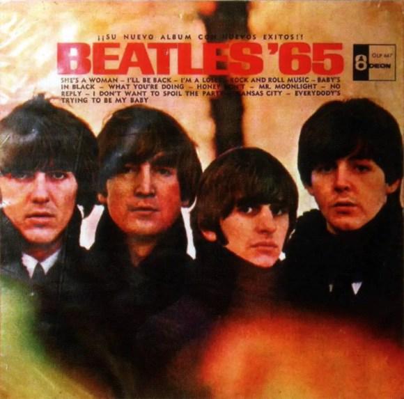 Beatles 65 album artwork - Venezuela