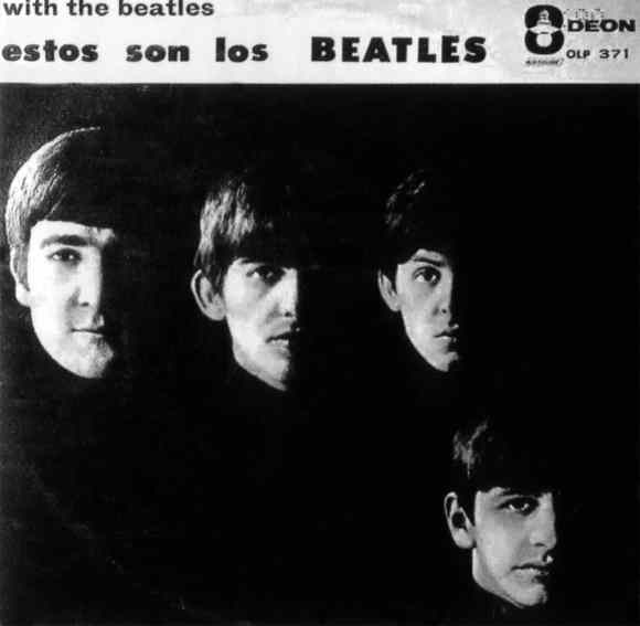 Estos Son Los Beatles album artwork - Venezuela