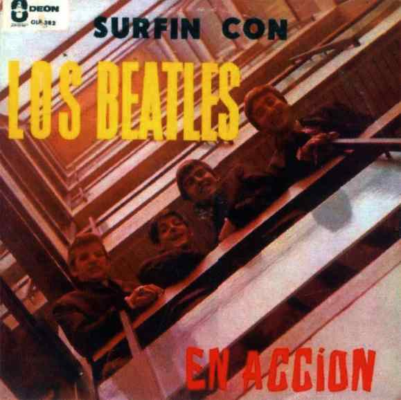 Surfin Con Los Beatles album - Venezuela