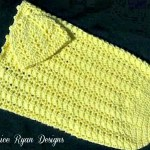 Sunshine and Shells Baby Cocoon & Hat Set-Free Pattern