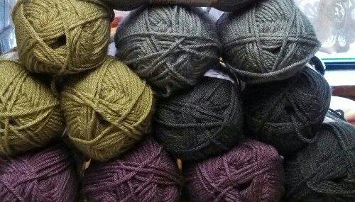 Yarn Fun For Our CAL…..