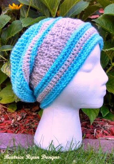 Amazing Grace Blissful Slouchy - Free Crochet Pattern