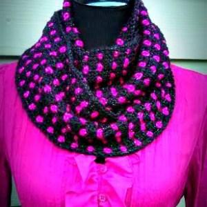 Block Party Infinity Scarf… Free Crochet Pattern!