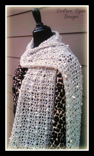 Northern Nights Scarf