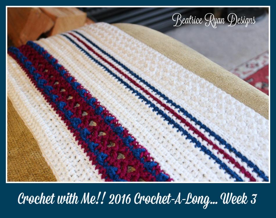 Crochet with Me week 3 2016