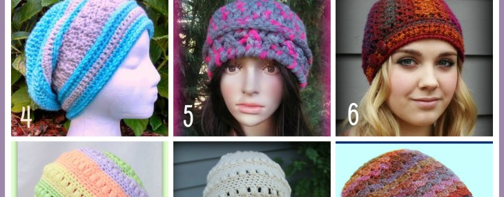 Happy National Hat Day… Free Crochet Hat Patterns from Beatrice Ryan Designs!