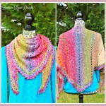 Amazing Grace Simple Spring Wrap… Free Crochet Pattern!!