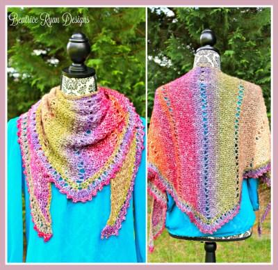 Amazing Grace Spring Crochet Wrap... Free Pattern