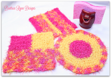 Cheery Kitchen Scrubby's - 3 Free Crochet Patterns