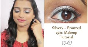 Metalic eye makeup 6