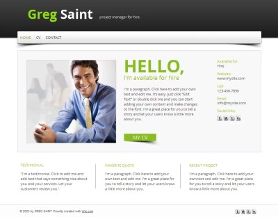15 Best Free Online Resume/CV Website Templates and Themes
