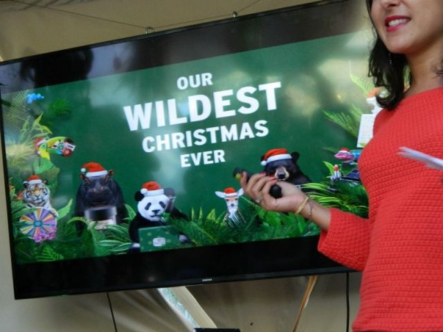 event the body shop the wildest christmas ever