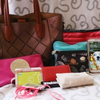 What's In My Bag? (July 2014 Edition + A Giveaway!)