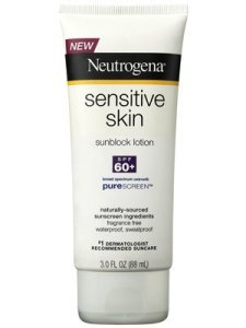 Neutrogena Sensitive Skin SPF 60+ Sunblock Lotion