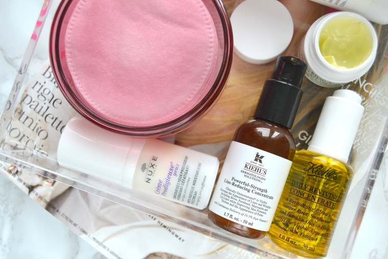 La mia beauty routine del mattino Kiehl's