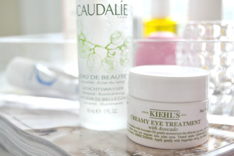 La mia routine beauty del mattino Creamy eye treatment Kiehl's