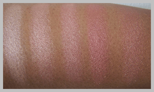 mac blonde swatches MAC Naturally Collection Swatches