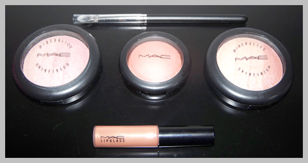 mac naturally haul MAC Naturally Collection Swatches