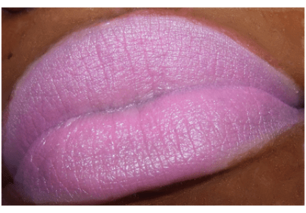 viva glam nicki swatch purple liner MAC Viva Glam Nicki Swatches