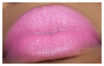 viva glam nicki swatch rasberry liner MAC Viva Glam Nicki Swatches