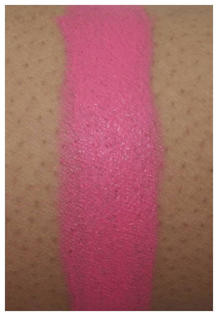 viva nicki arm swatch MAC Viva Glam Nicki Swatches