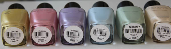zoya lovely collections names Zoya Lovely Collection Info & Swatches