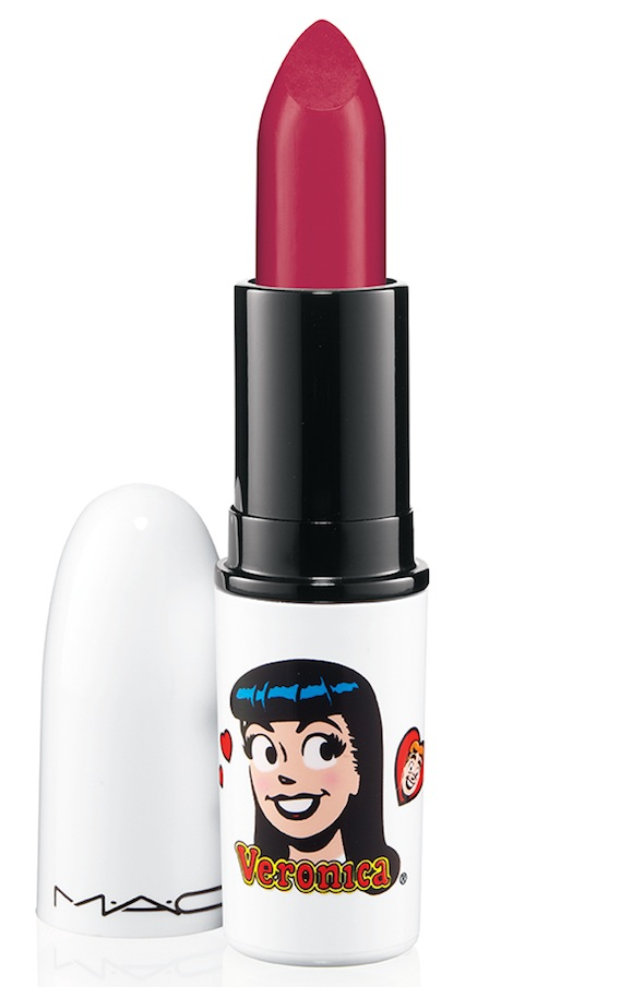 ArchiesGirls Lipstick RonnieRed 72 Introducing MAC Archie Girls Collection