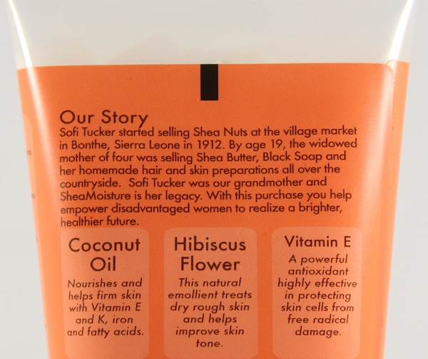 shea moisture body butter back Shea Moisture Coconut & Hibiscus Body Butter