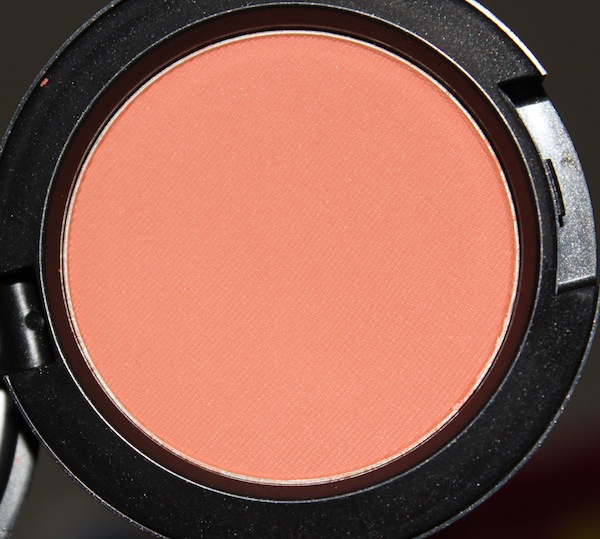 MAC Honey Jasmine Blush MAC All About Orange Swatches