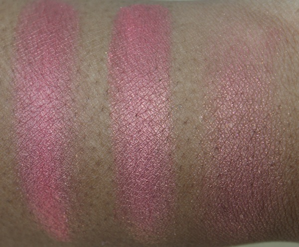 mac simmer swatch MAC Tropical Taboo Swatches