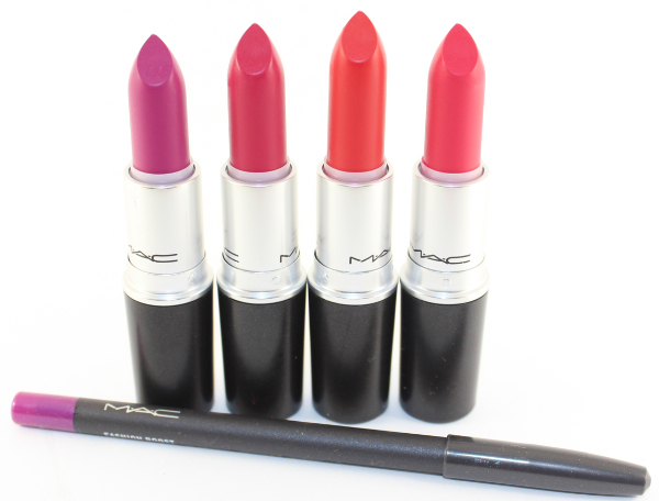 mac retro matte haul MAC Retro Matte Lipstick Swatches