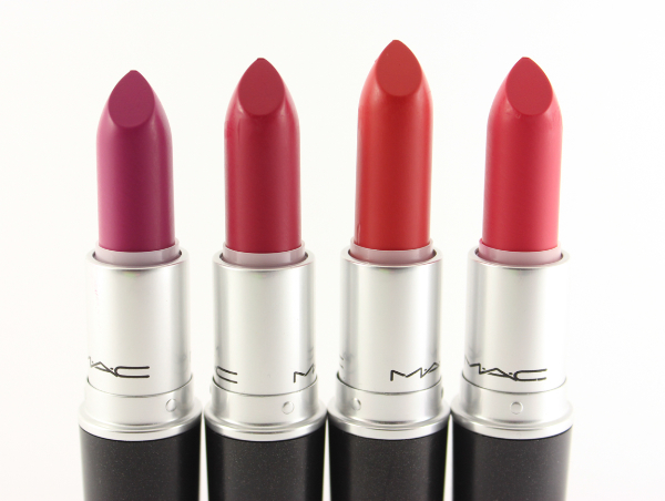 mac retro matte lipsticks MAC Retro Matte Lipstick Swatches