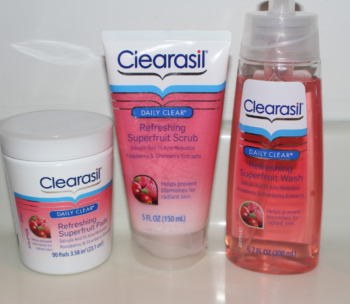 clearasil 2 #WinTheDay with Clearasil Superfruit & Get a Freebie